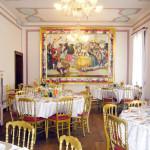 Sala del palazzo storico Baretta